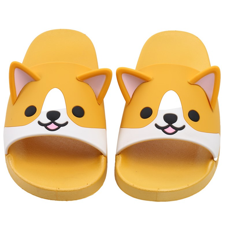Shiba Inu House Slippers - Ice Cream Cake