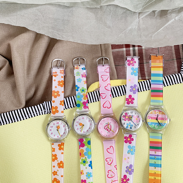 Pop Colour 90s Watch (5 Designs) - Ice Cream Cake