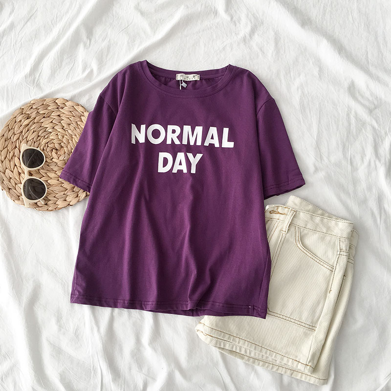 Normal Day T-shirt (2 Colours) - Ice Cream Cake