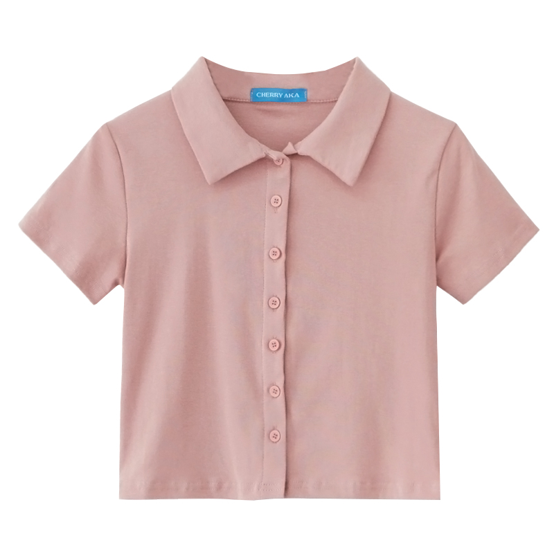 Teddy Cropped Polo (9 Colours)