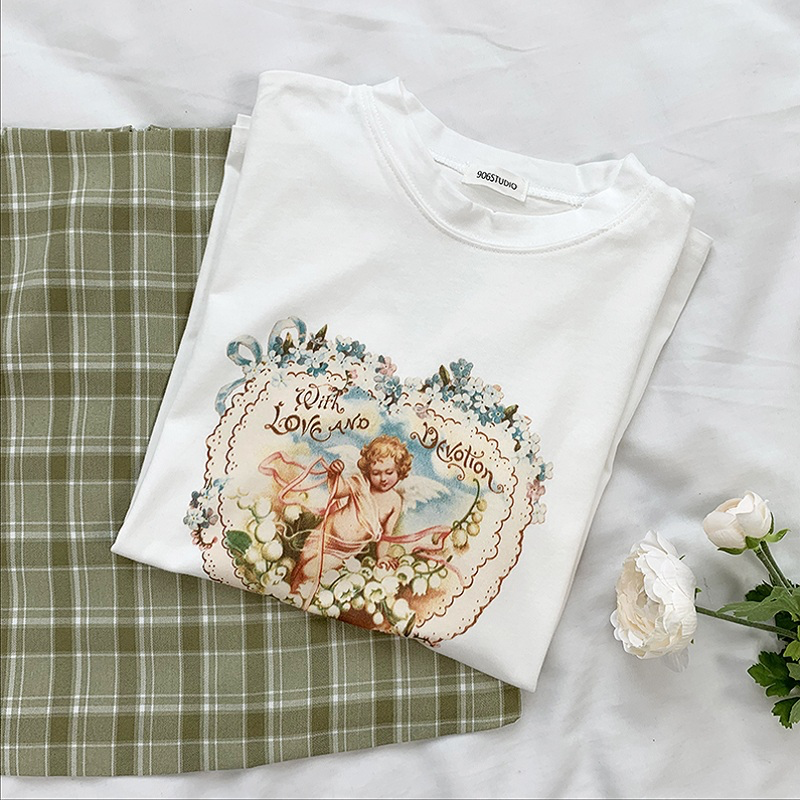 Love and Devotion Cherub T-shirt - Ice Cream Cake