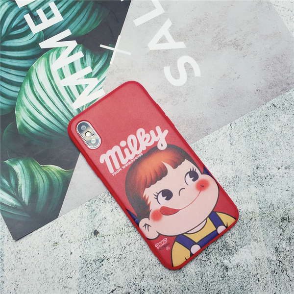 Peko Milky iPhone Case