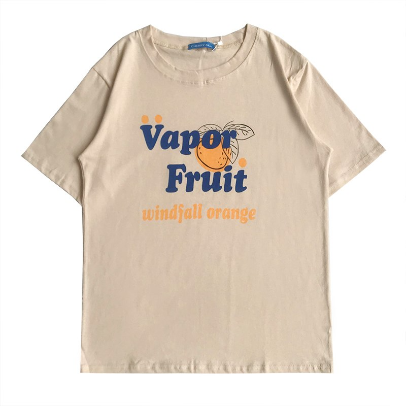 Vapor Fruit T-shirt (2 Colours) - Ice Cream Cake