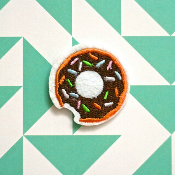 Mini Sprinkled Donut Patch (set of 2) - Ice Cream Cake