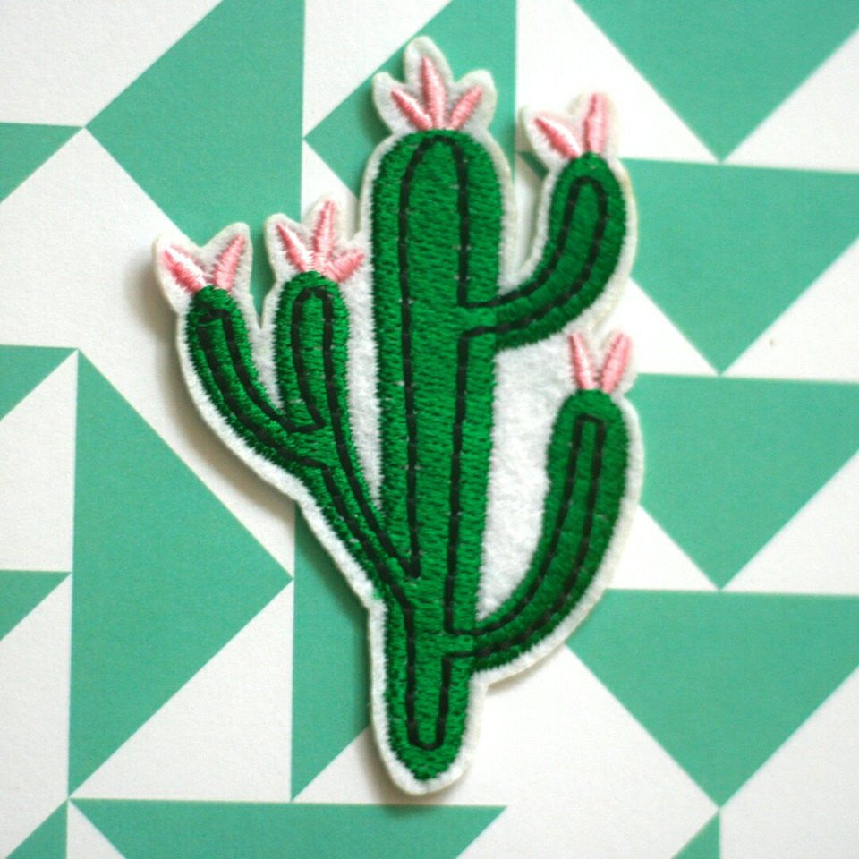 Flowery Cactus Patch (set of 2) - Ice Cream Cake