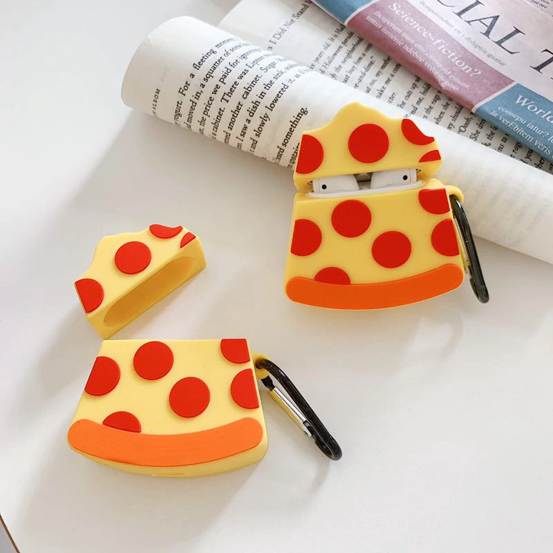 Slice of Pizza Airpod Case Cover - Ice Cream Cake