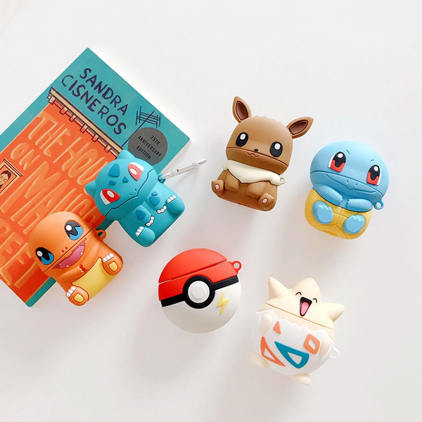 Pokemon Airpod Case Cover (6 Designs) - Ice Cream Cake