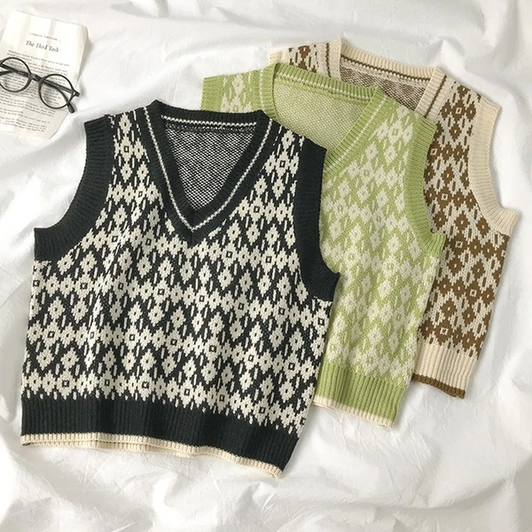 Harold Sweater Vest (3 Colours)