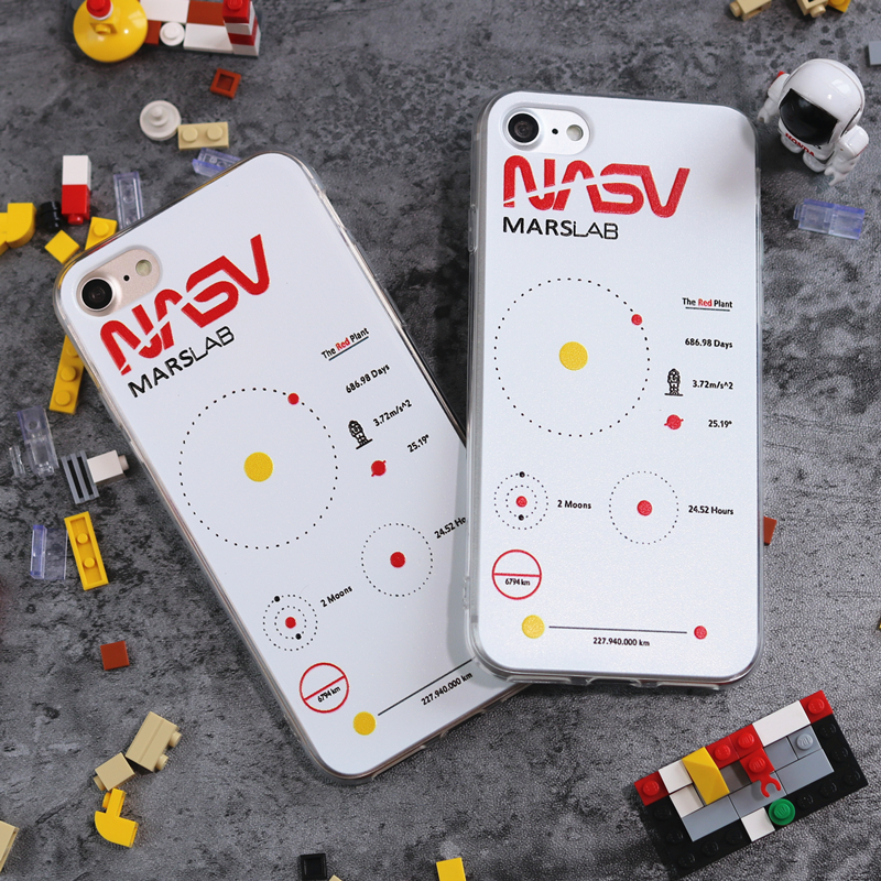 NASA Marslab iPhone Case - Ice Cream Cake