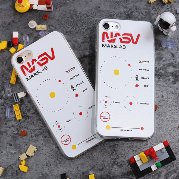NASA Marslab iPhone Case