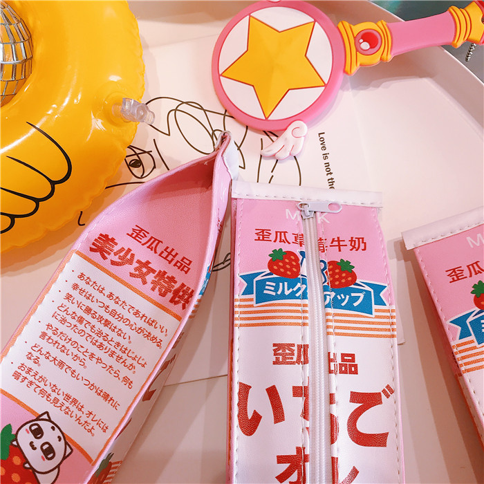 Ichigo Milk Pencil Case - Ice Cream Cake