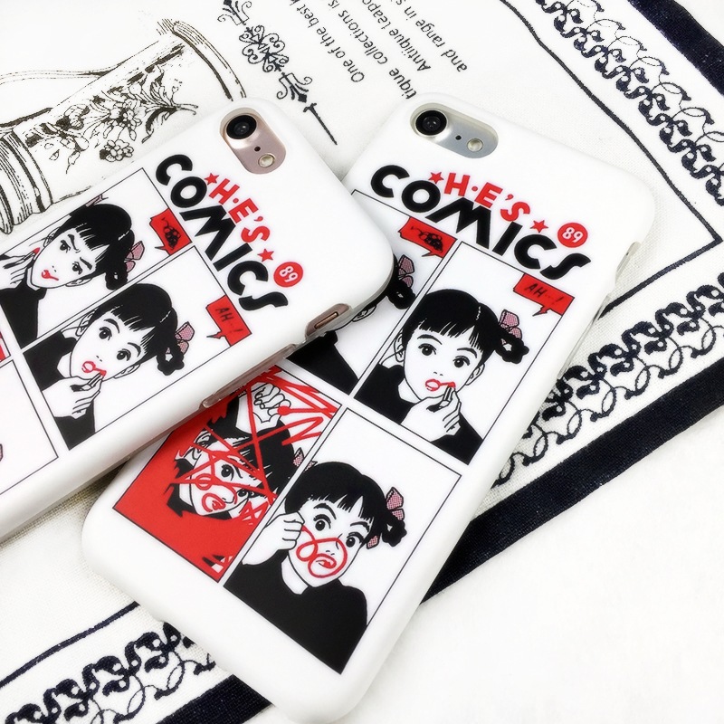 Hisashi Eguchi Lipstick Girl Phone Case - Ice Cream Cake