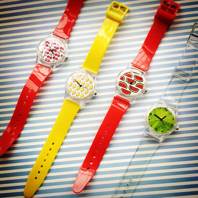 Fruity Pop Watches - Ice Cream Cake
