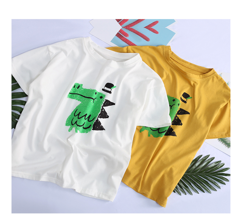 Fancy Dinosaur Tee (2 Colours) - Ice Cream Cake