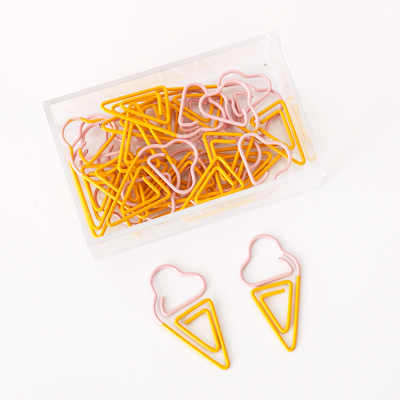 Ice Cream Paperclips - Ice Cream Cake