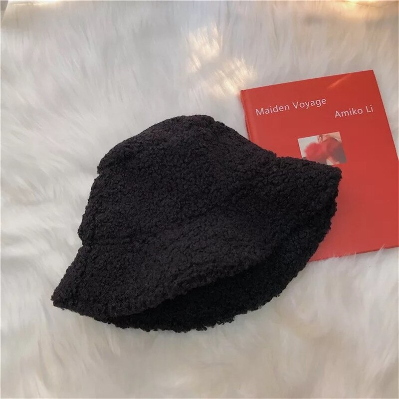 Fuzzy Bucket Hat (7 Colours)