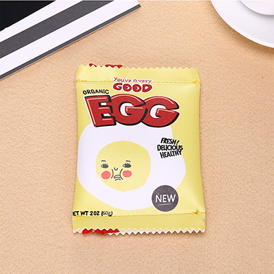 Soft Good Egg Zipper Pouch