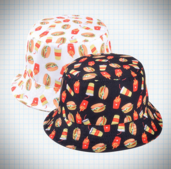 Junk Food Bucket Hat - Ice Cream Cake