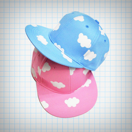 Pastel Cloud Pattern Baseball Cap - Ice Cream Cake