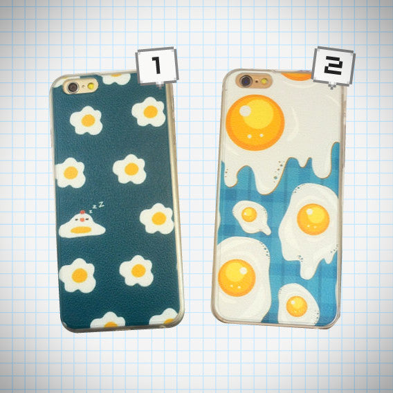 Fried Egg iPhone Case - Ice Cream Cake