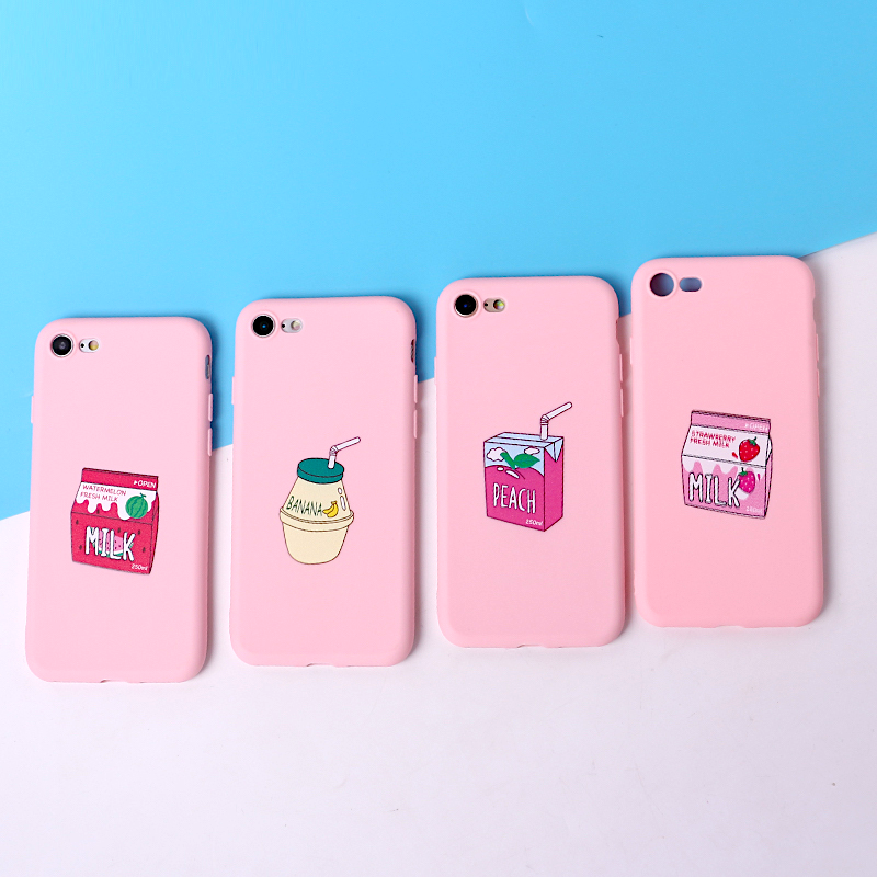 Pink Fruit Drink iPhone Case (4 Designs) - Ice Cream Cake