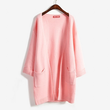 Slouchy Knit Cardigan (4 Colours) - Ice Cream Cake
