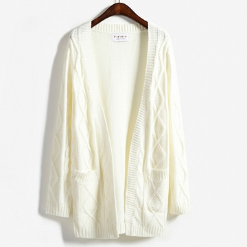 Cable Knit Cardigan (4 Colours) - Ice Cream Cake