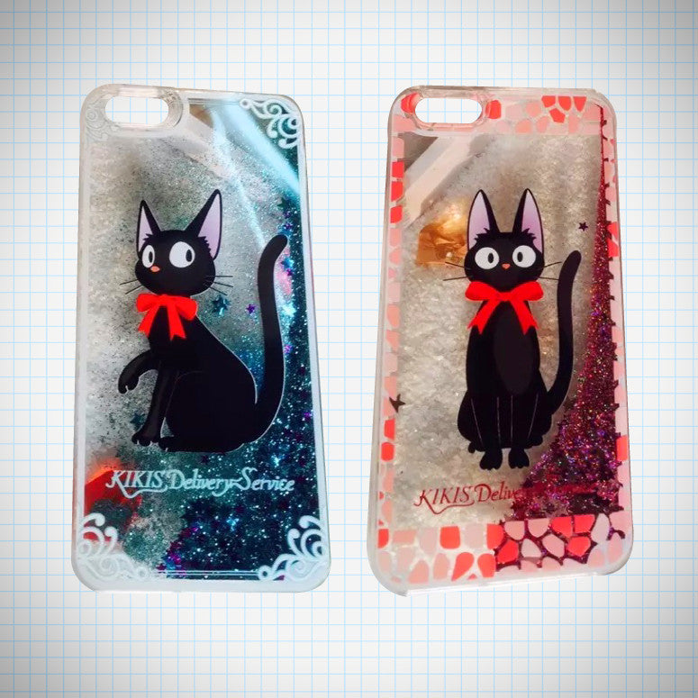 Jiji Glitter Waterfall Phone Case - Ice Cream Cake