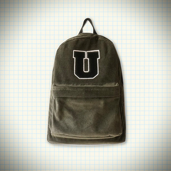 Corduroy letter backpack - Ice Cream Cake