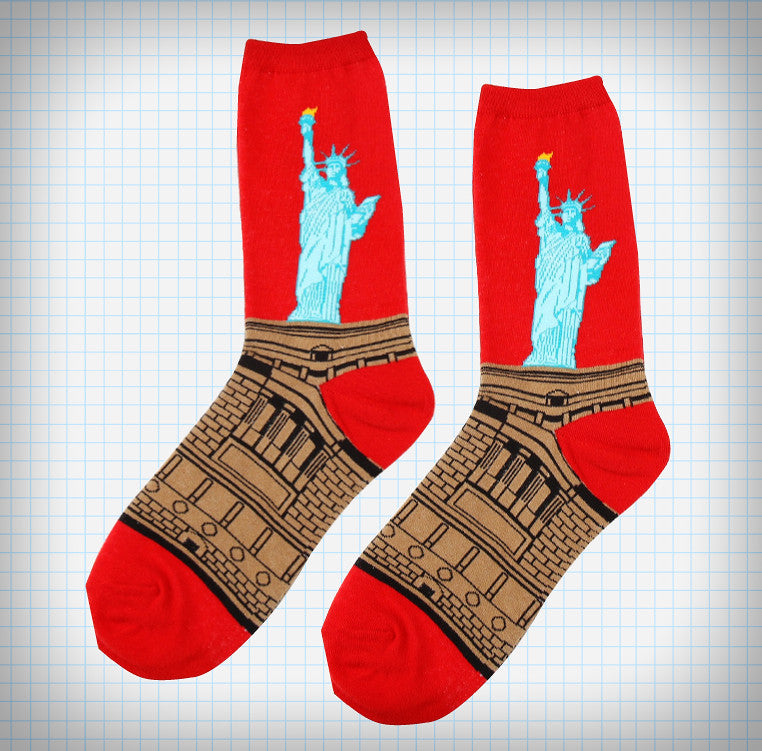 Statue of Liberty Socks - Ice Cream Cake