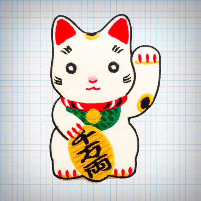 Maneki Neko Patch - Ice Cream Cake