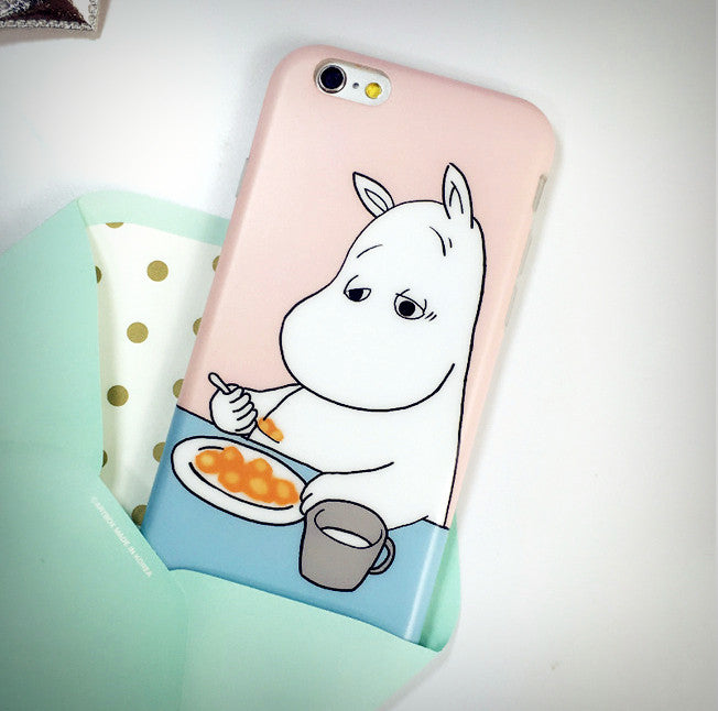 Sleepy Moomin iPhone Case - Ice Cream Cake