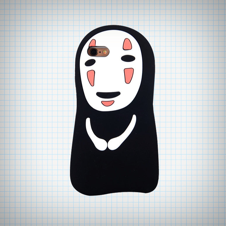 No Face Phone Case - Ice Cream Cake