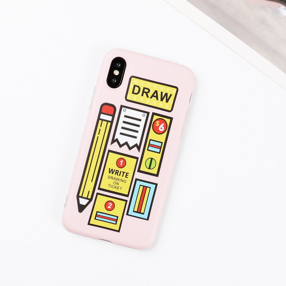 Stationery iPhone Case - Ice Cream Cake