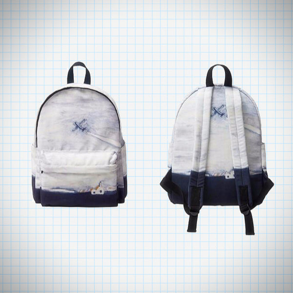 Landscape Backpack: Plane - Ice Cream Cake