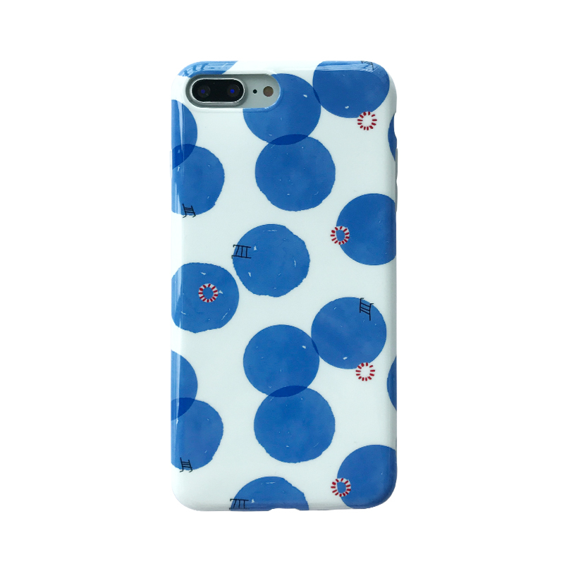 Polka Dot Pools iPhone Case
