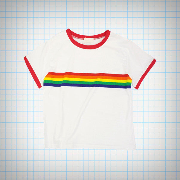 Rainbow Ringer Tee - Ice Cream Cake