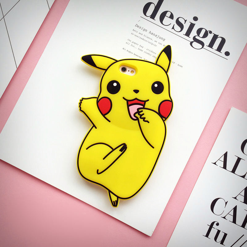 3D Pikachu iPhone Case - Ice Cream Cake