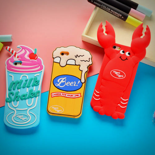 3D Summer Treats iPhone Case (3 Designs) - Ice Cream Cake