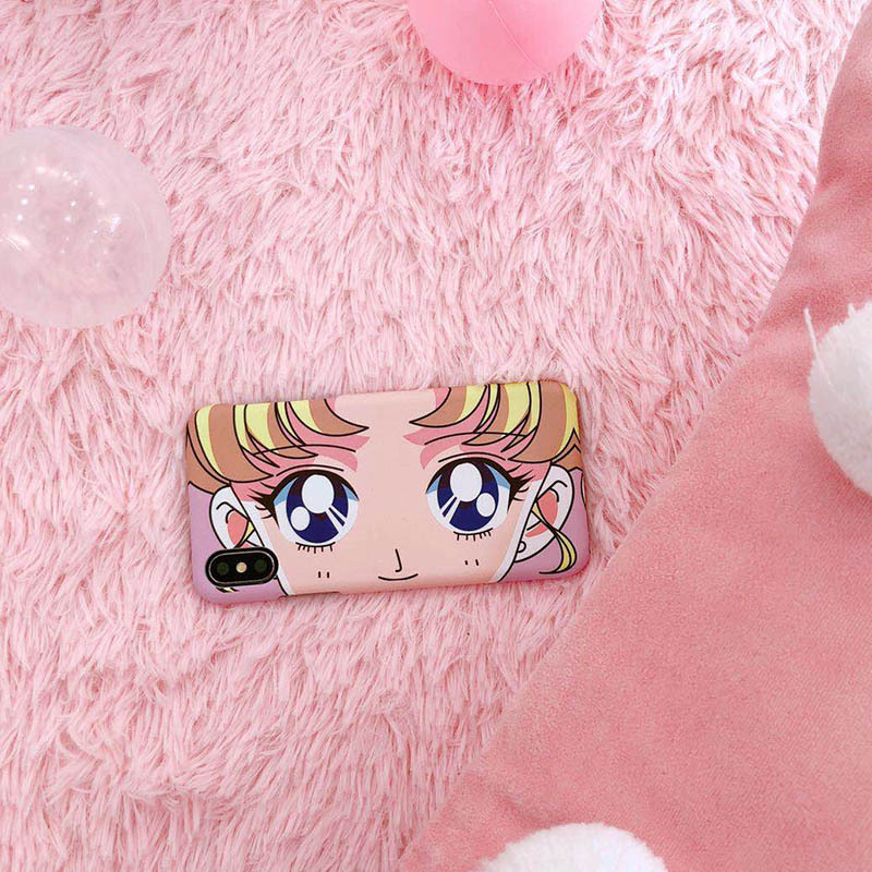 Sailor Moon Eyes iPhone Case