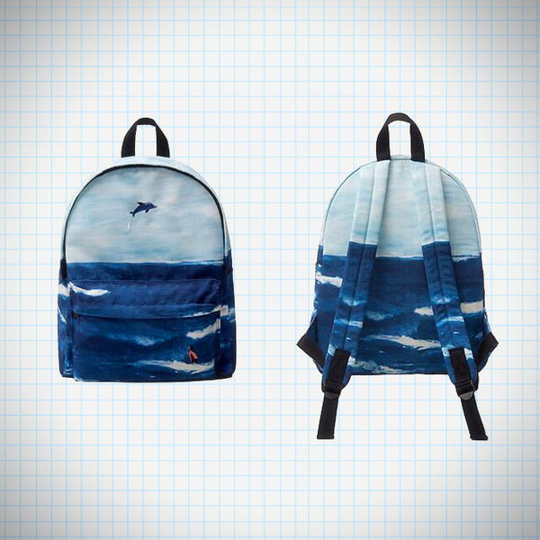 Landscape Backpack: Ocean - Ice Cream Cake
