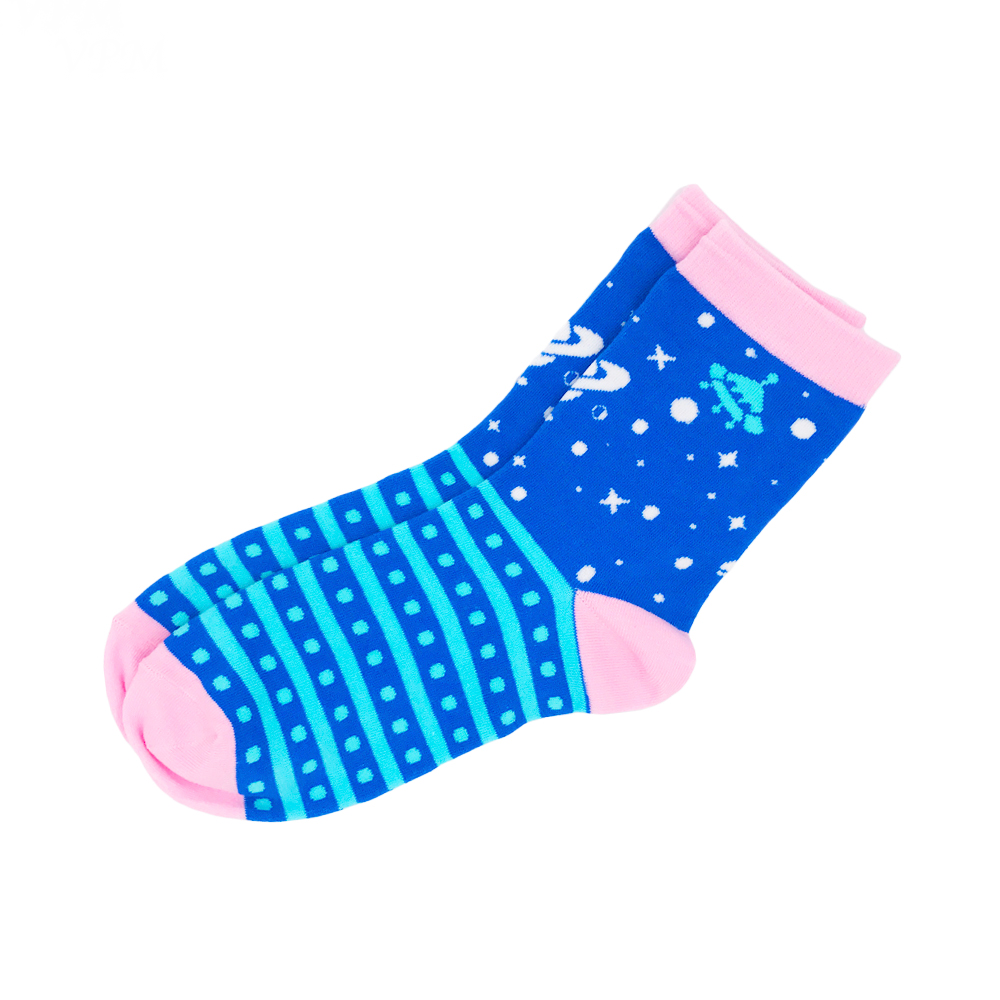 Pastel Space Socks - Ice Cream Cake