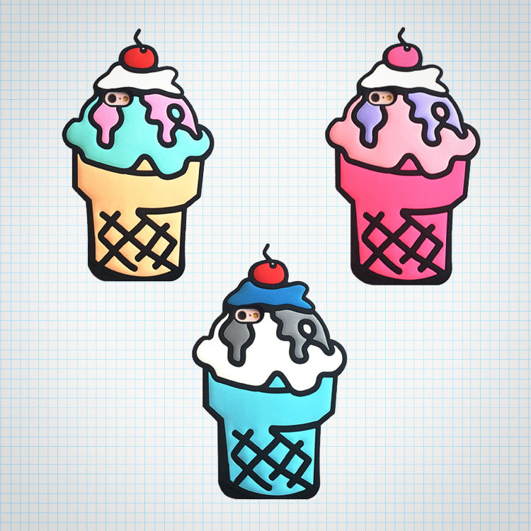 Soft Serve Ice Cream iPhone Case - Ice Cream Cake