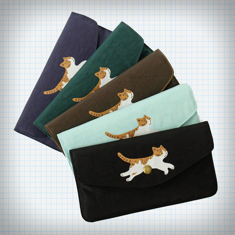 Jumping Kitty Long Wallet (5 Colours) - Ice Cream Cake