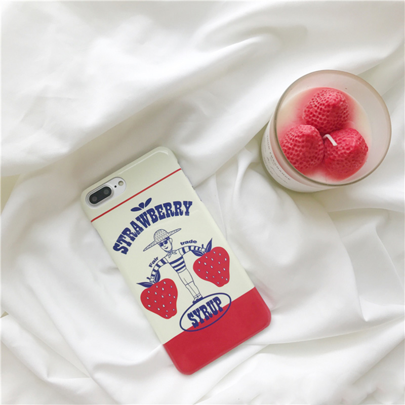 Strawberry Syrup iPhone Case