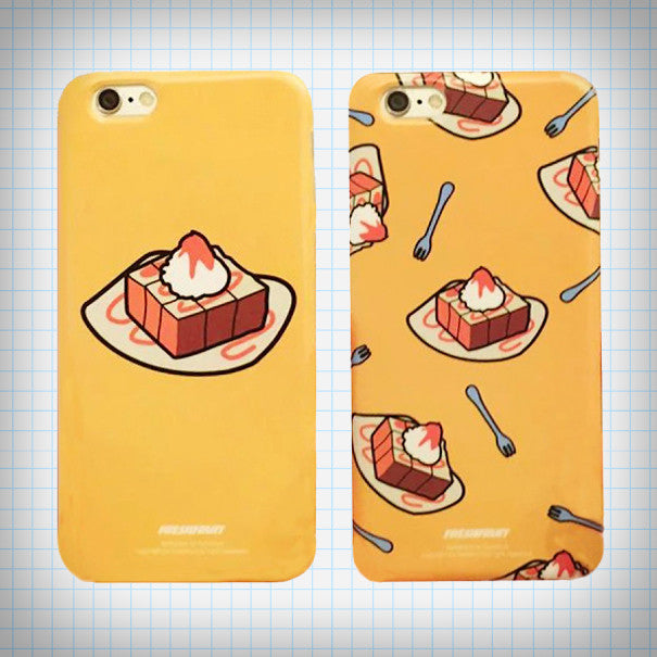 Honey Toast iPhone Case (2 Designs) - Ice Cream Cake