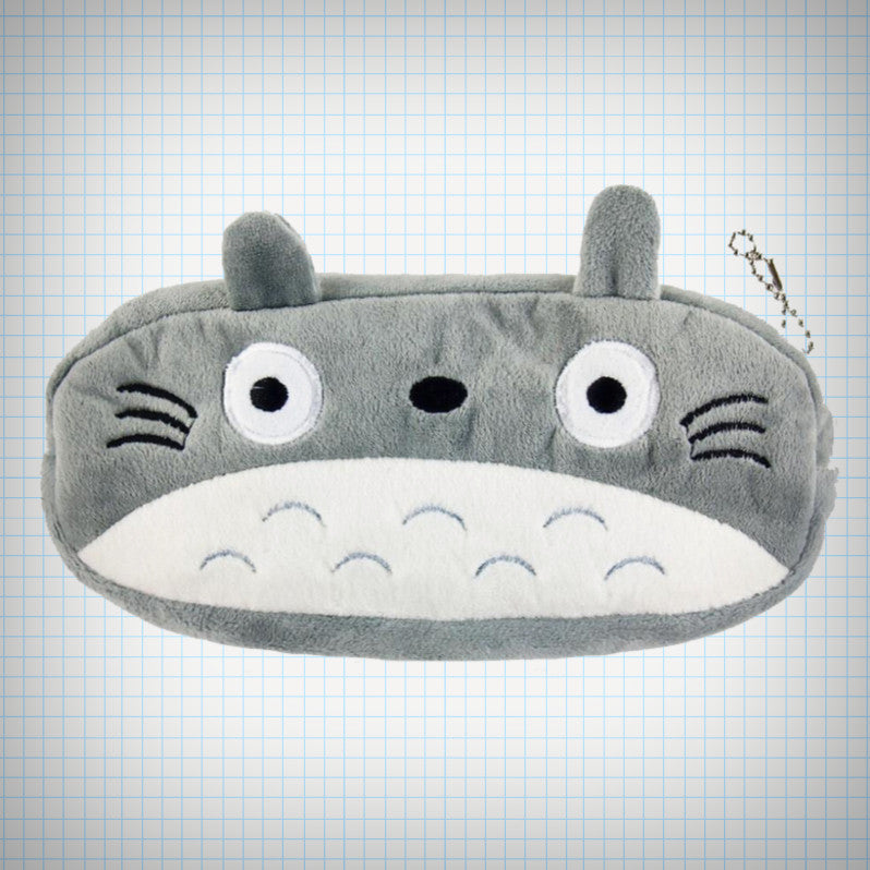 Plush Totoro Pencil Case - Ice Cream Cake