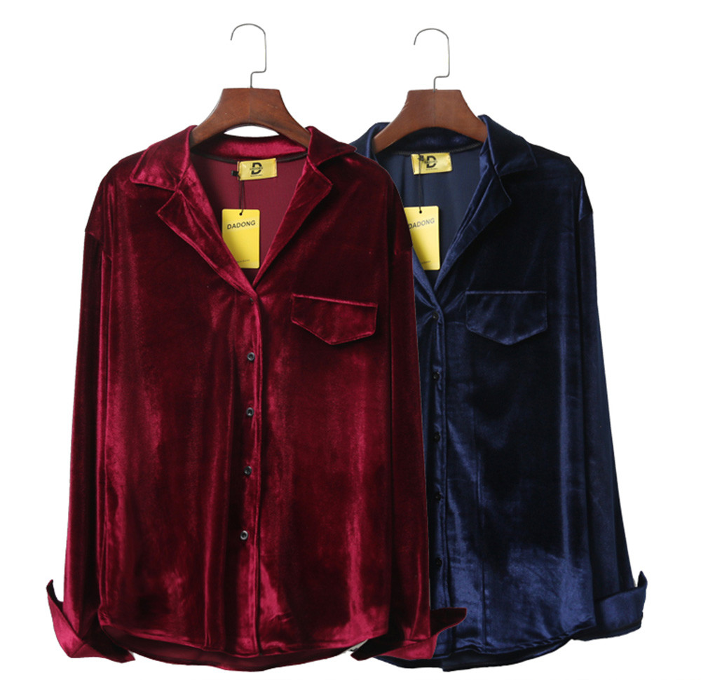 Velvet Blouse (2 Colours)