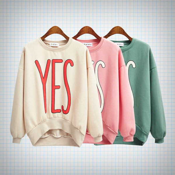 YES Print Jumper - Ice Cream Cake