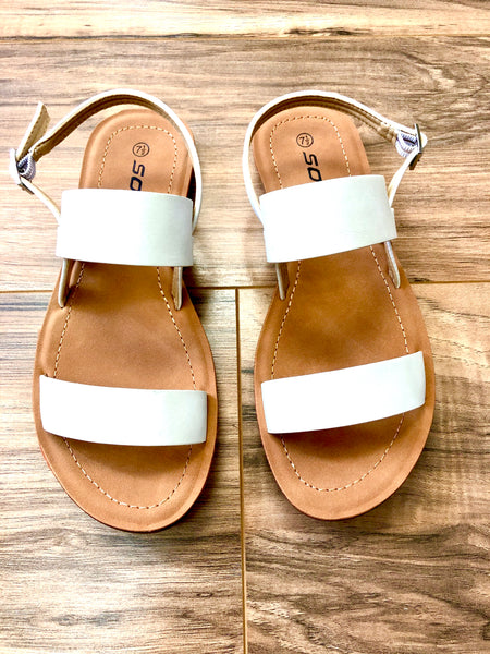 WHITE SANDALS - Wildfire and Lace